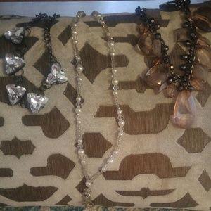 Jewelry - Jeweled Necklace Bundle